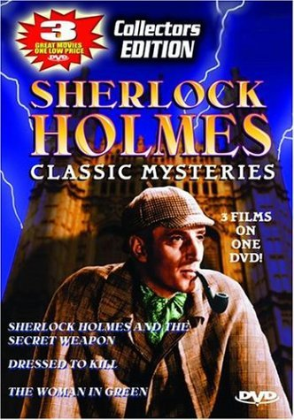 Sherlock Holmes Dressed To Kill Woman In Green Clr