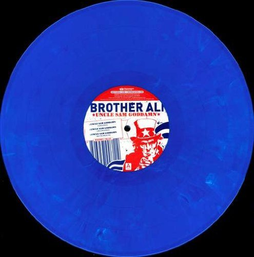 Brother Ali Uncle Sam Godamn (red) 12 Inch Single