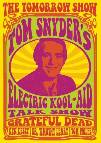 Tomorrow Show With Tom Snyder Electric Kool Aid Talk Show Nr