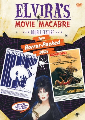 Blue Sunshine Monstroid Elvira's Movie Macabre R 2 DVD
