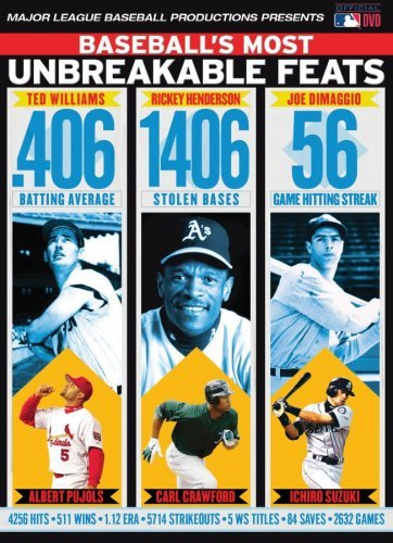 Mlb Baseball's Most Unbreakable Fe Nr