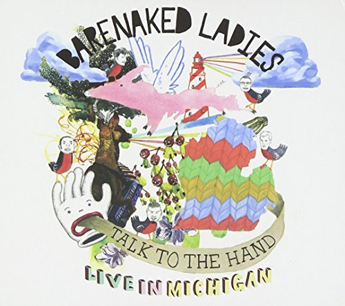 Barenaked Ladies Talk To The Hand Live In Mich 2 CD Set