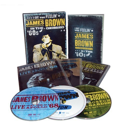 James Brown I Got The Feelin' James Brown 3 DVD