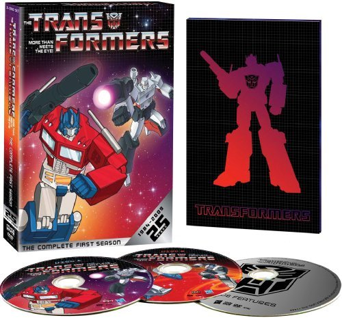 Transformers Season 1 Transformers 25th Annv. Ed. Nr 3 DVD