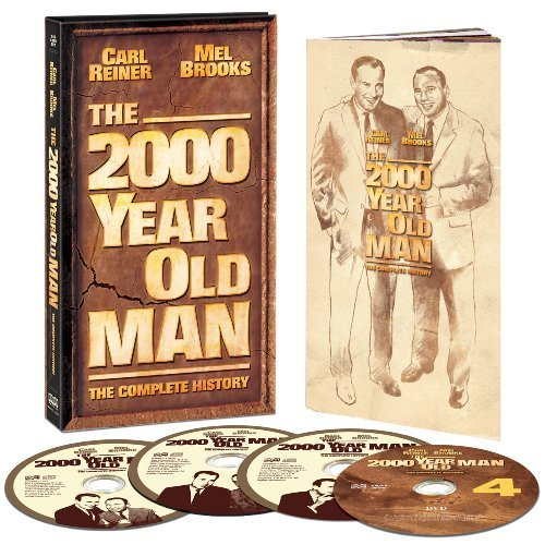 Carl & Mel Brooks Reiner 2000 Year Old Man The Complet 3 CD 1 DVD