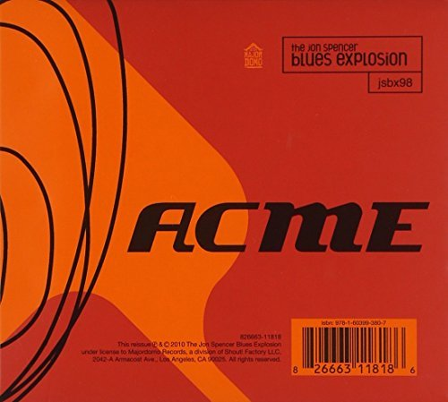 The Jon Spencer Blues Explosion Acme + Xtra Acme 2 CD