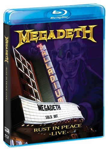 Megadeth Rust In Peace Live Blu Ray Ws