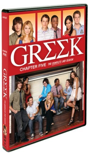 Greek Chapter 5 Season 3 DVD Tv14 6 DVD