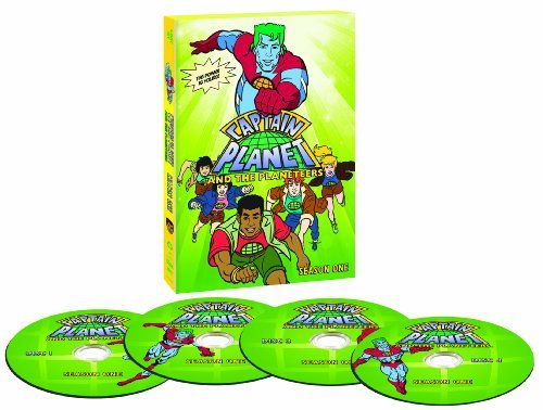 Captain Planet & The Planeteer Captain Planet & The Planeteer Nr 4 DVD