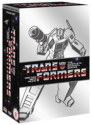Transformers More Than Meets The Eye The Complete Series DVD 15 Discs