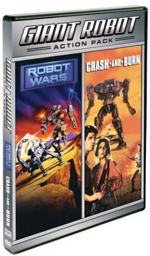 Crash & Burn Robot Wars Giant Robot Action Pack R