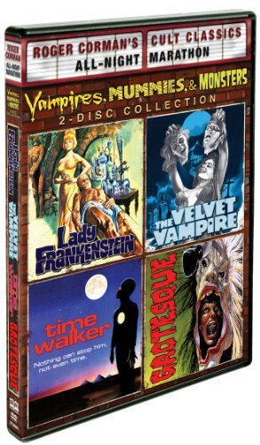 Vampires Mummies & Monsters Co Vampires Mummies & Monsters Co Pg 2 DVD