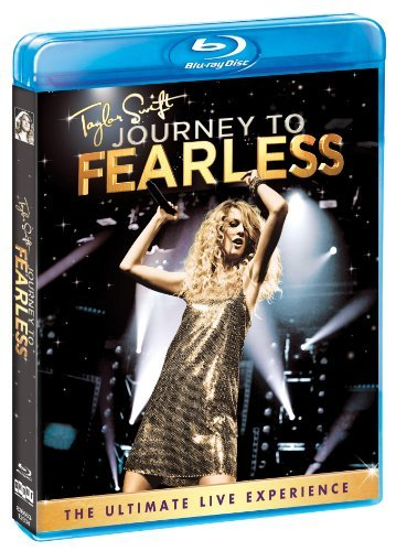 Taylor Swift Journey To Fearless Blu Ray