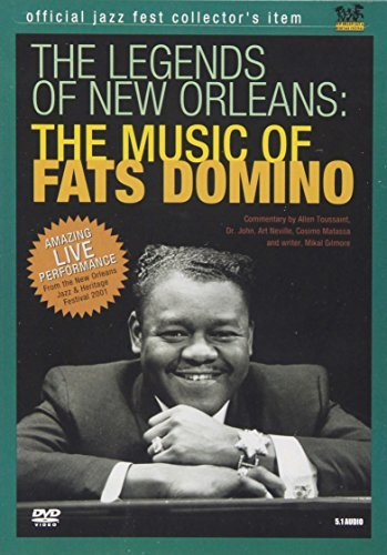 Fats Domino Legends Of New Orleans Music