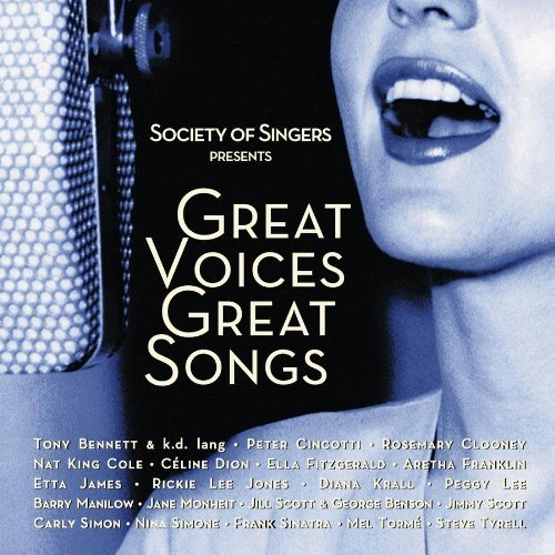 Society Of Singers Great Voic Society Of Singers Great Voic Jones Sinatra Dion Tyrell Cincotti Torme Krall James