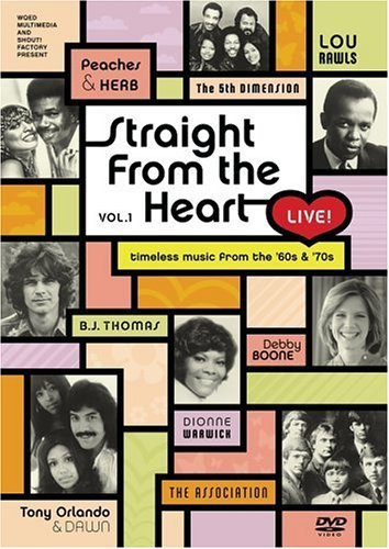 Straight From The Heart Live Vol. 1 Straight From The Heart Warwick Thomas Rawls Boone Association Peaches & Herb
