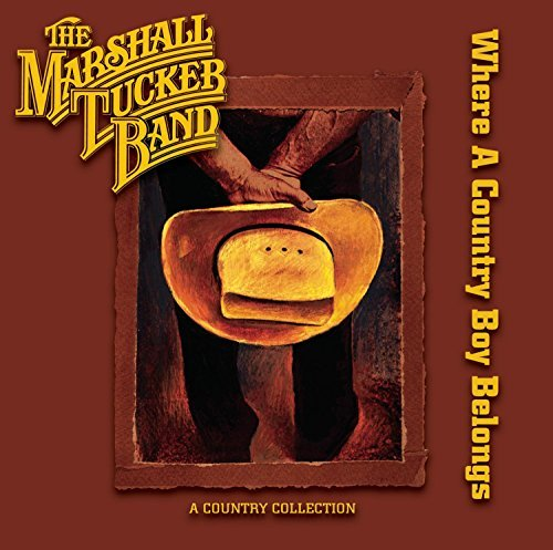 Marshall Tucker Band Where A Country Boy Belongs 2 CD Set
