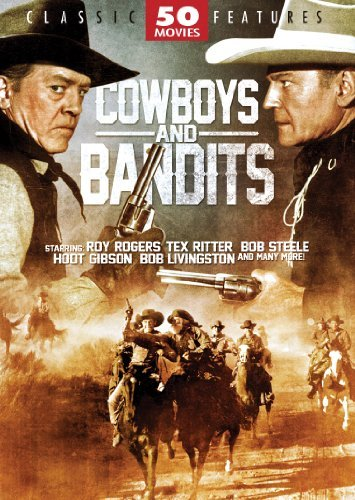 Cowboys & Bandits (50 Movies) Cowboys & Bandits Pg 12 DVD