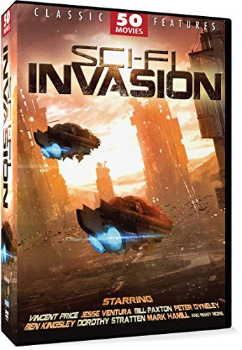 Sci Fi Invasion (50 Movies) Sci Fi Invasion R 12 DVD