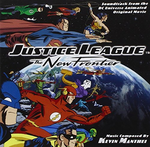 Various Artists Justice League The New Fronti