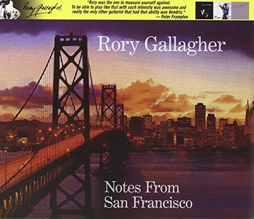 Rory Gallagher Notes From San Francisco 2 CD