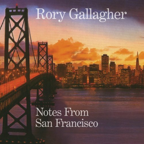 Rory Gallagher Notes From San Francisco 3 Lp