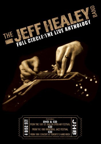 Jeff Band Healey Full Circle Live Anthology Incl. 3 CD DVD