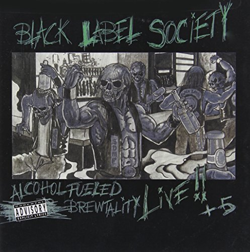 Black Label Society Alcohol Fueled Brewtality Live 2 CD