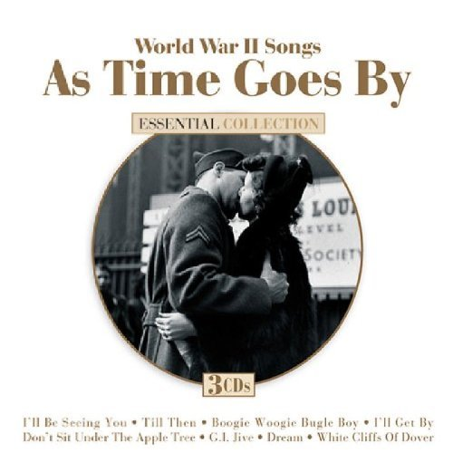 World War Ii Songs As Time Goes By World War Ii Songs As Time Goes By Sinatra Lynn Miller 3 CD Set