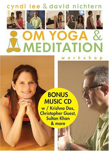 Om Yoga & Meditation Workshop Lee Nichtern 2 DVD Set