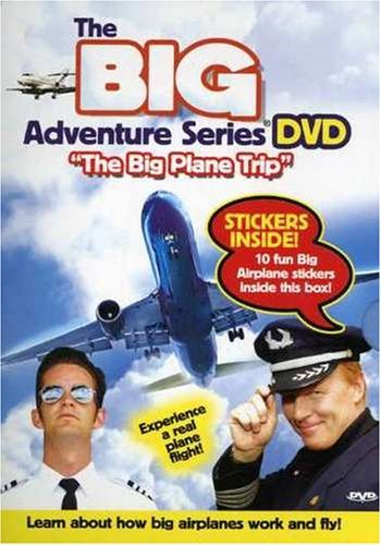 Big Adventure Series Big Plane Trip O Card Incl. Stickers
