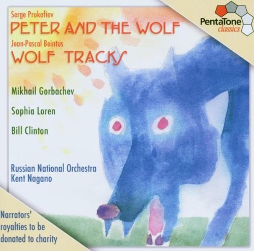 Prokofiev Beintus Peter & The Wolf Wolf Tracks Sacd Loren Clinton Gorbachev Nagano Russian Natl Orch