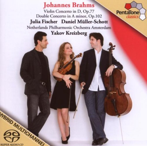Johannes Brahms Con Vn Double Con For Vn & Vc Sacd