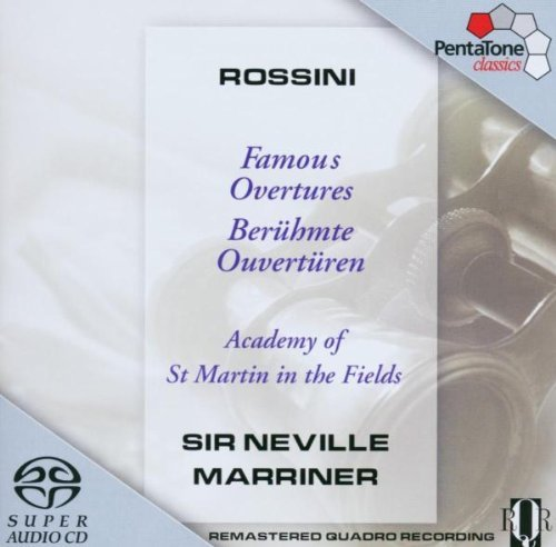 Gioachino Rossini Famous Overtures Sacd Marriner Asmf