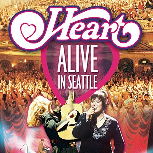 Heart Alive In Seattle Sacd Hybrid 6 Ch 2 CD Set