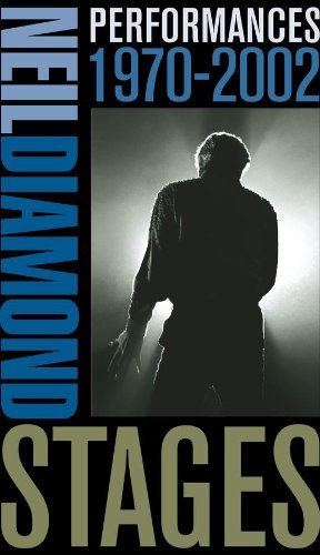 Neil Diamond Stages Performances 1970 2002 5 CD Incl. Bonus DVD