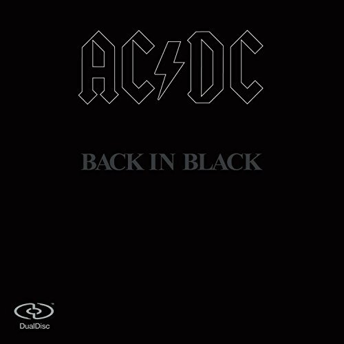 Ac Dc Back In Black Dualdisc