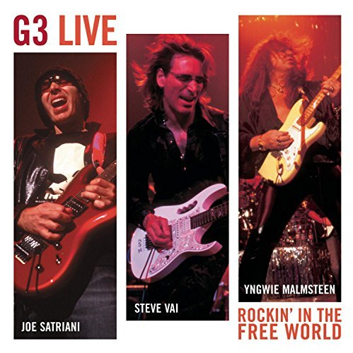 G3 G3 Live Rockin' In The Free W Feat. Satriani Vai Malmsteen 2 CD Set