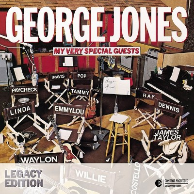 Jones George My Very Special Guests Digipak 2 CD Set