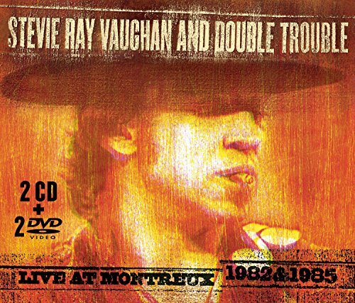 Stevie Ray & Double Tr Vaughan Live At Montreux 1982 & 1985 2 CD 2dvd