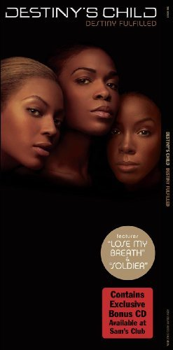 Destiny's Child Destiny Fulfilled W Bonus Disc