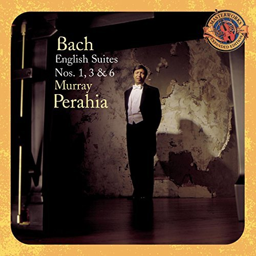 Johann Sebastian Bach English Suites Nos. 1 Perahia*murray (pno)