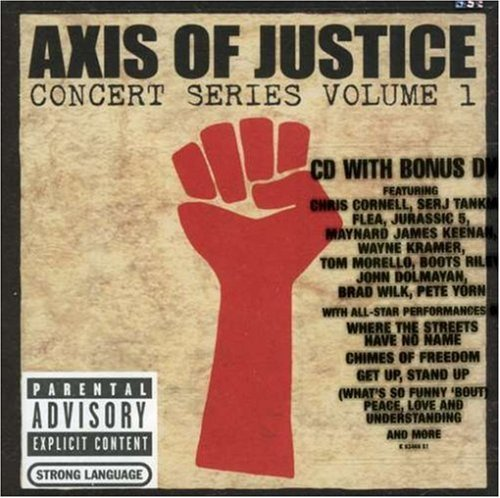 Axis Of Justice Vol. 1 Concert Series Explicit Version Incl. Bonus DVD
