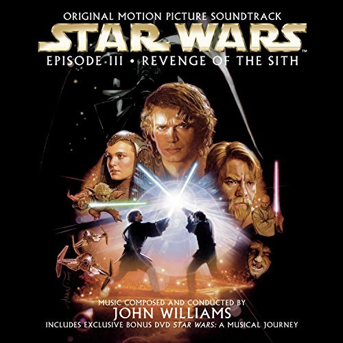 John Williams Star Wars Episode Iii Revenge Music By John Williams Incl. Bonus DVD