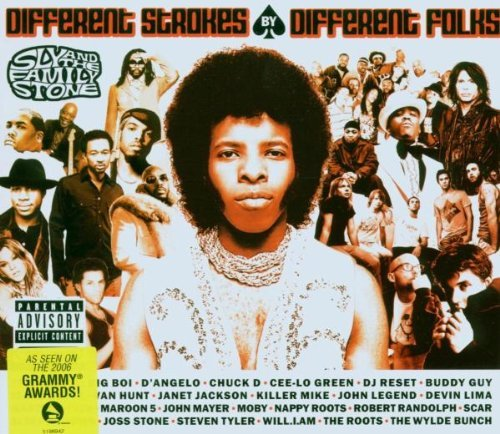 Sly & The Family Stone Different Strokes By Different Digipak