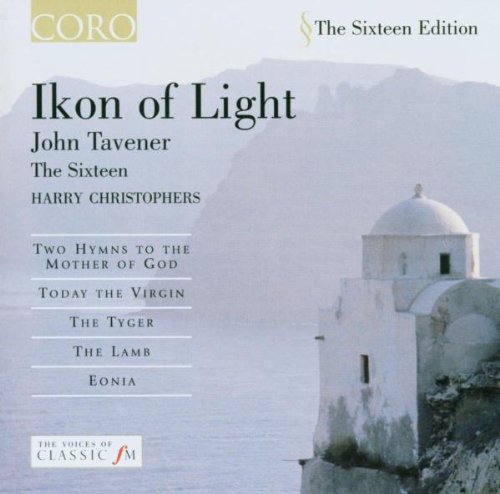J. Tavener Ikon Of Light Two Hymns Christophers Sixteen