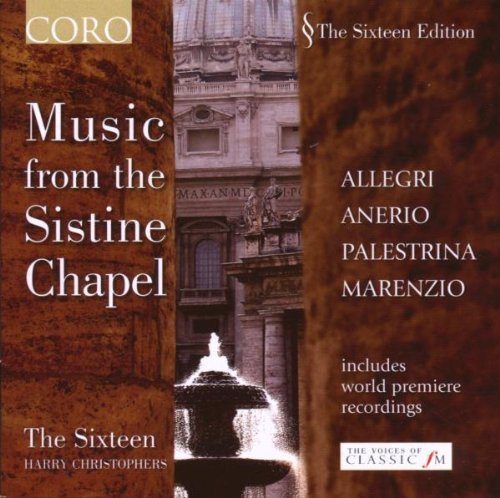 Sixteen Harry Christophers Music From The Sistine Chape Sixteen Harry Christophers