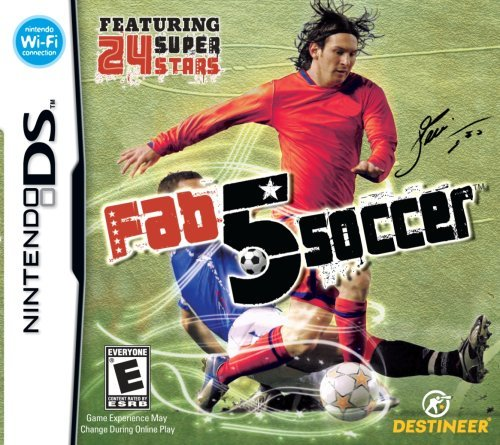 Nintendo Ds Soccer Superstars Crave Rp
