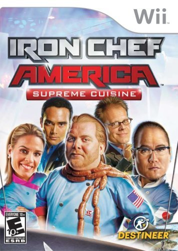Wii Iron Chef Crave Rp