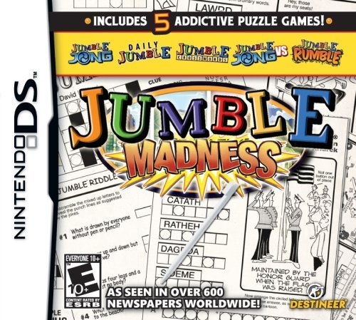 Nintendo Ds Usa Today's Jumble